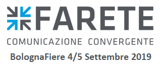 FARETE, Bologna Fairs, 4th-5th September 2019
